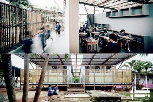 معماری پایدار مدرسه2