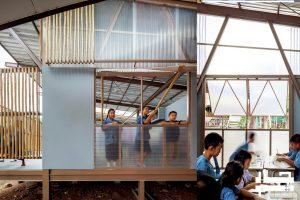 معماری پایدار مدرسه3