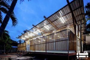 معماری پایدار مدرسه5