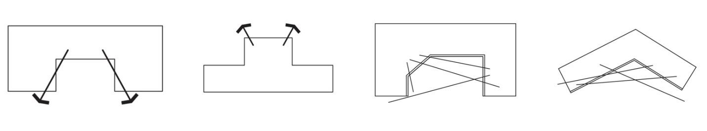 تصویر 3-6 قرار دادن Void در جداره های بیرونی به جای مرکز بنا
